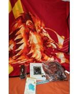 Harry Potter Loot Crate Gryffindor Blanket Trvl Bag Frame Ghost Charm Ob... - $39.59
