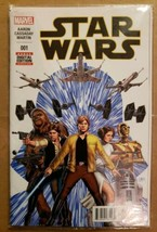 MARVEL STAR WARS #1 CASSADAY PREMIERE  (2015)  RARE! Skywalker Death Star - $20.55