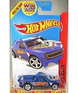 2014 Hot Wheels #143 HW Race-HW Race Team FIG RIG Blue Variant w/White 5... - $7.25