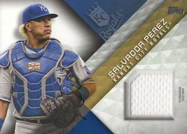 2018 Topps Series 1 Game Used Jersey Relic #MLM-SP Salvador Perez - $8.79