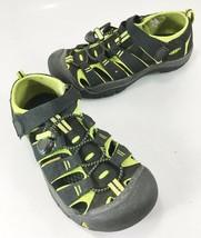 Keen Youth 4 Neon Green Black Sports Sandals Waterproof - $33.81