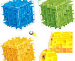 Cube maze labyrinth rolling ball educational toys puzzle plastic stress relief toy thumb155 crop