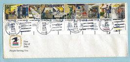 USPS - Strip 10 - First Day Issue - FDC - 8 Cent - Honeoye Falls, NY 197... - $2.47