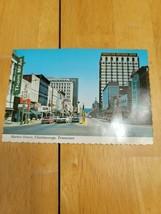 Vtg Postcard Chattanooga Tennessee Market Street Scalloped Edge Walter C... - $2.96