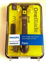 Philips Norelco OneBlade Face Hybrid Electric Trimmer and Shaver QP2520/70 - $25.26