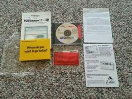 Microsoft Windows 95 OEM Install CD-ROM COA Product Key & User Guide - $39.55