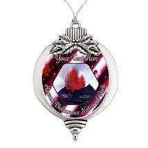 Hawaii Volcanoes National Park Christmas Ornament Snowman Snowflake or B... - $16.82