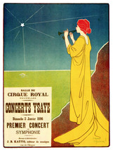 Decor Poster.Cirque Royal Premier Concert.Home wall design Art.1501 - $11.30+