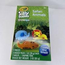CRAYOLA SILLY SCENTS DOUGH SAFARI ANIMALS, NEW *SEALED* - $6.83