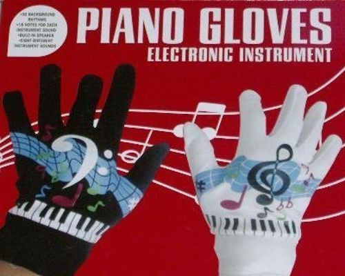 Excalibur Piano Gloves Electronic Musical Instrument Model No. 657