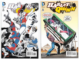 Harley Quinn 17 & 18 Vol 2, 2015 DC Comics NM - $9.49
