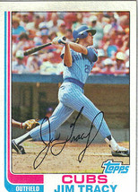 1982 Topps Jim Tracy Chicago Cubs #403 Baseball Card - $1.97