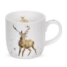 Boite de cadeau tasse mug en fine porcelaine CERF DOE 0.31l 11 fl.oz 12 ... - $22.07