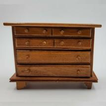 Vintage Dollhouse Chest of Drawers, Bureau - $20.00