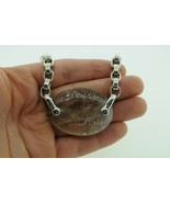 Keiselstein-Cord Sterling Silver Rutilated Quartz Link Necklace (17 1/4) - $645.00