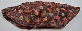 Longaberger 1997 Shades Basket Liner Fall Gingham Collectible Accessory ... - $9.99