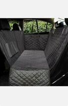 SUPSOO Dog Car Seat Cover Waterproof Durable Anti-Scratch Nonslip Back Seat Pet  image 8