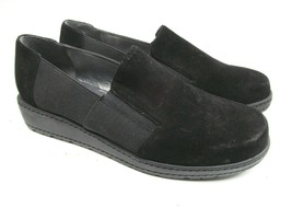 Stewart Weitzman Womens Black Loafers Size 6M - $28.71
