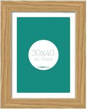 Eiche Holz Glas Wandbehang Bild Photo Frame 30 X 40CM - $303,46 MXN
