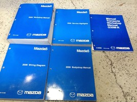 2006 Mazda5 Mazda 5 Service Repair Workshop Shop Manual Set W EWD Body +... - $128.65