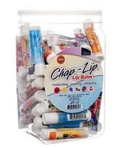48x Chap-Lip Lip Balm Moisturizing Soothing Refreshing Assorted With Vit... - $42.99