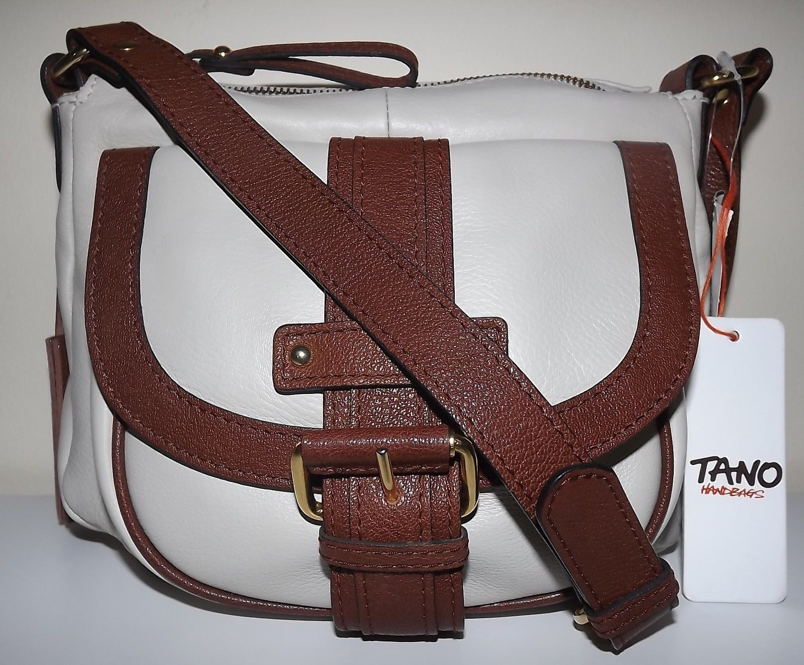 acafe6e7b048 New Tano Handbags Leather Top Zip Crossbody and similar items