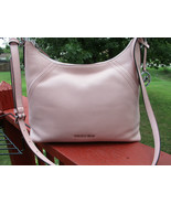 Authentic Michael Kors Aria Large Shoulder Bag Smokey Rose Crossbody   New W/Tag - $148.49