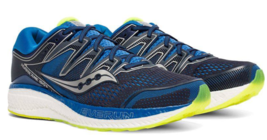 Saucony Hurricane ISO 5 Size 9 M (D) EU 42.5 Men's Running Shoes Navy S2... - €87,41 EUR