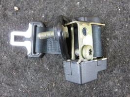 90 Rolls Royce Silver Spur rear center seat belt black ub76926 - $29.44