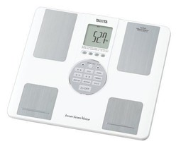 BC-202-WH White Inner Voice scan Tanita body composition monitor - $170.29