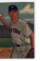 1952 Bowman #33 Gil McDougald Yankees TRIMMED - Missing Border P Poor (RC - Rook - $12.00