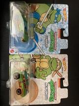 Hot Wheels Character Teenage Mutant Ninja Turtles Leonardo & Michelangelo Set - $14.74