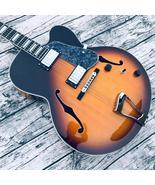 Nouvelle haute qualité corps épais archtop guitare jazz guitare électriq... - $484.49+