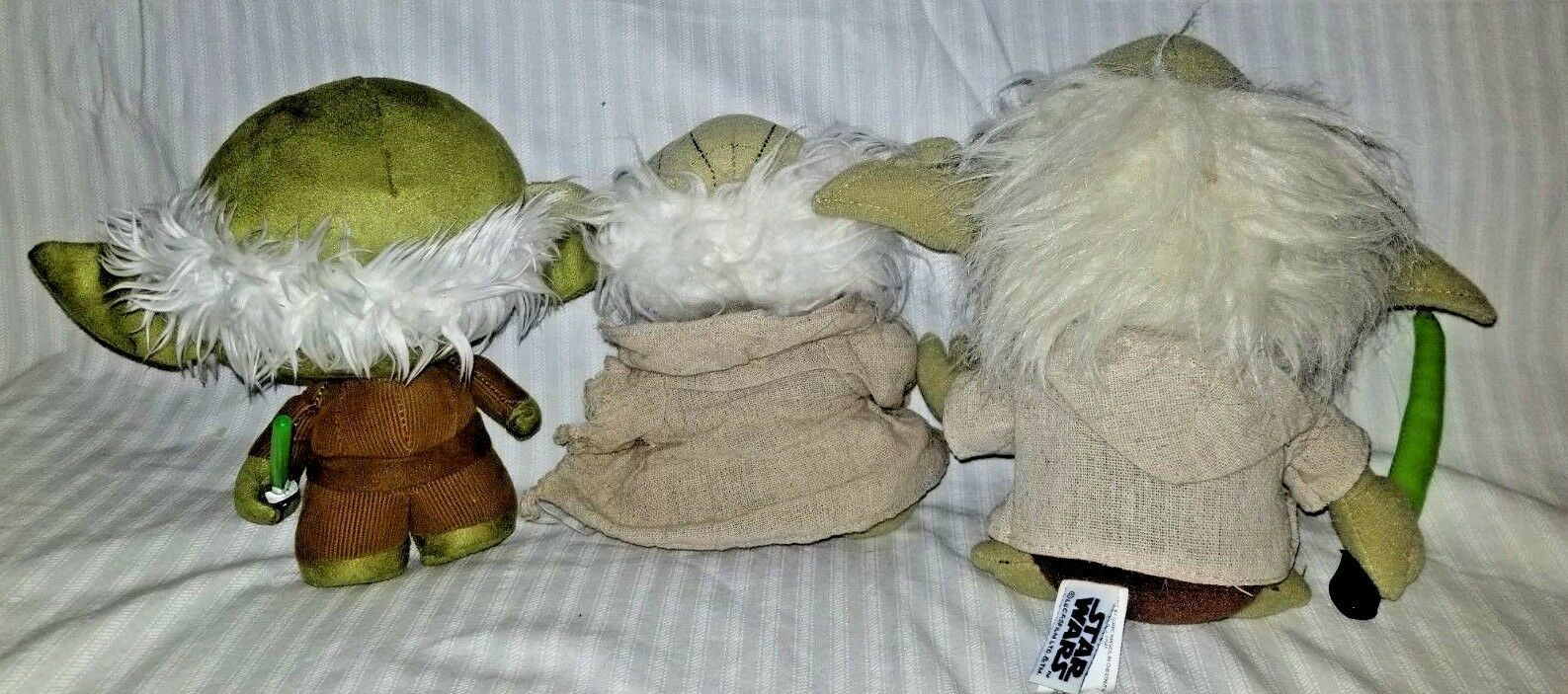 Star Wars Yoda Plush Dolls. Lot of 3 image 2