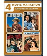 4 Movie Marathon: Classic Western Collection 2X DVD ( Ex Cond.)  - $14.80