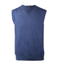 Stefano Ricci Men's Navy Blue Sleeveless Sweater Vest Cashmere Silk, 52,... - $590.00