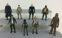 """Star Wars The Force Awakens Toy 4"""" Action Figures Lot 8pc Hasbro A3 - $20.74"""