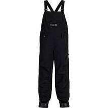 Burton Youth Unisex Skylar Bib Pants, True Black, Medium - $89.09