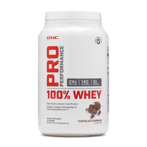 GNC PRO Performance 100% WHEY Chocolate Supreme 25 servings 1.96 lbs. BB... - $24.97