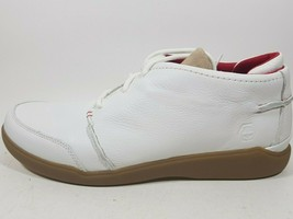 TIMBERLAND MENS SHOES SANTERIA HC CASUAL 90539 CLASSIC LEATHER WHITE BEG - $44.99