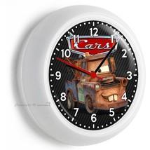 Radiator Springs Cars Mater Tow Truck Wall Clock Bedroom Baby Boy Nursery Decor - $21.05