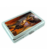 Amazon Warrior Princess D10 Silver Metal Cigarette Case RFID Protection ... - $10.84