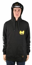 Wu Tang Clan C.R.E.A.M. Tattoo Black Cotton Poly Pullover Hoodie 43WU0101 NWT