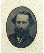Civil War Era RARE Tintype Photo Ferrotype Photograph Portrait of Man So... - $19.35