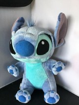 "Disney Parks Babies Lilo & BABY STITCH Velour Stuffed Plush 10"" Doll C03 - $14.84"