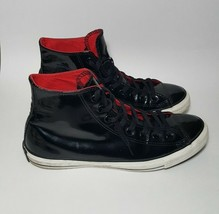 Converse All Star Chuck Taylor Black Patent Leather Men's US 10.5 - $29.70