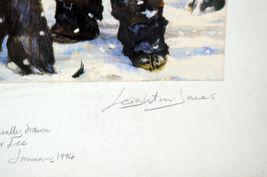 Unique Signed Artist Proof Leighton Jones Emmett Kelly Christmas Carol Scrooge image 7
