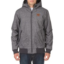 Vans Men's RUTHERFORD MOUNTAIN EDITION Hooded Jacket Coat Gray/Black PAR... - $93.46