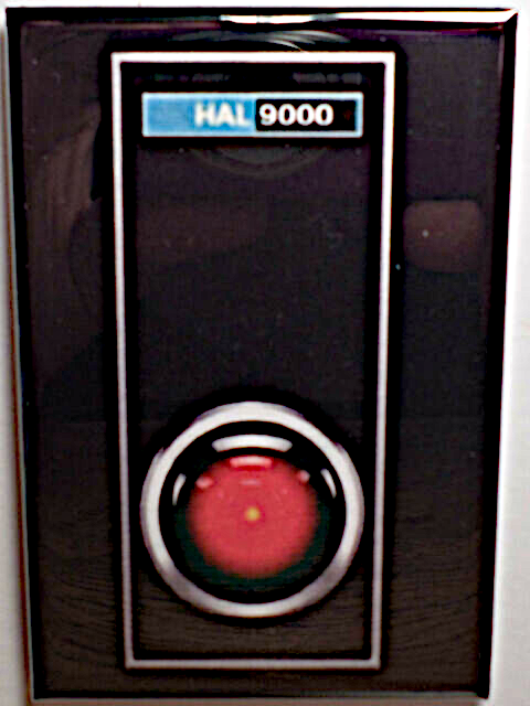 2001: A SPACE ODYSSEY MAGNET 2x3 INCHES HAL 9000 COMPUTER STANLEY KUBRICK 2001