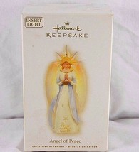 Hallmark Keepsake Ornament Angle of Peace 2009 Insert Light - $27.99